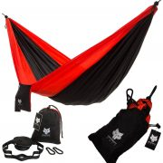 Independent Wolf Hammock Red and Black