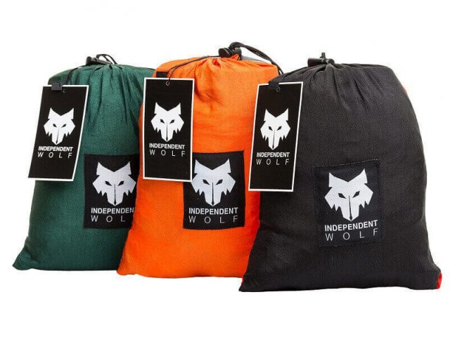 Independent Wolf Hammock three bags