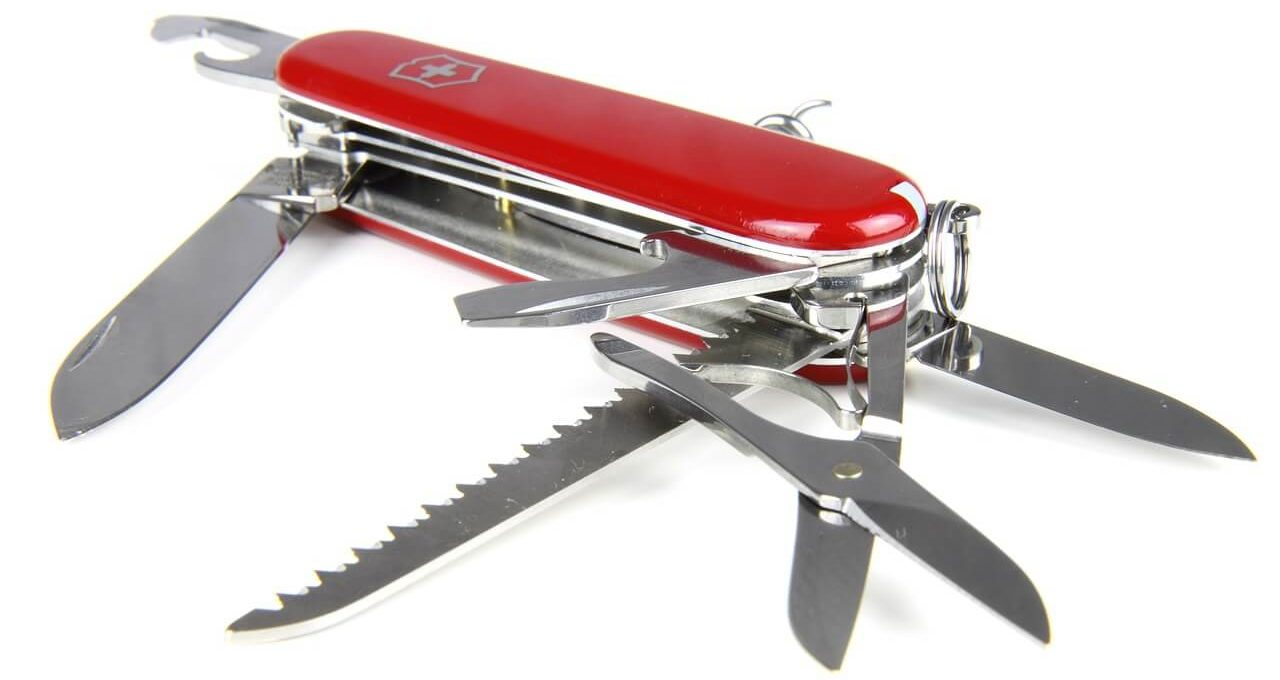 Swiss army pocket knife and multi-tool