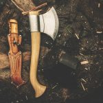 backpacking knife and axe