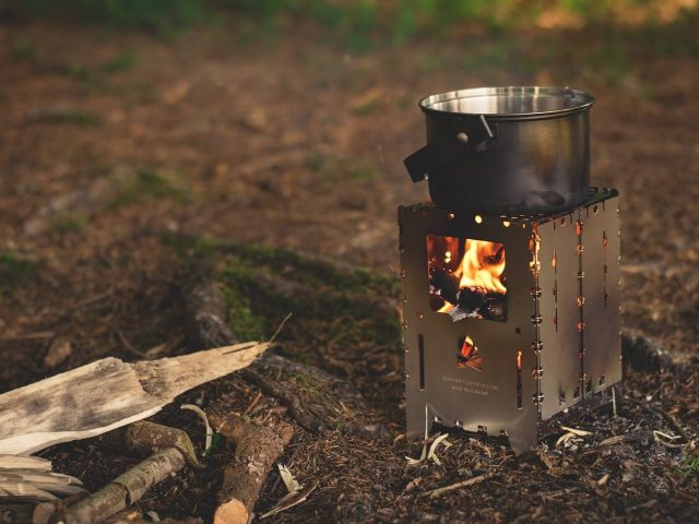 camping fireplace