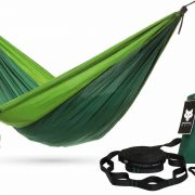 Green Independent Wolf Camping Hammock