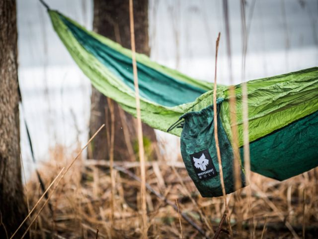 Green Independent Wolf Hammock