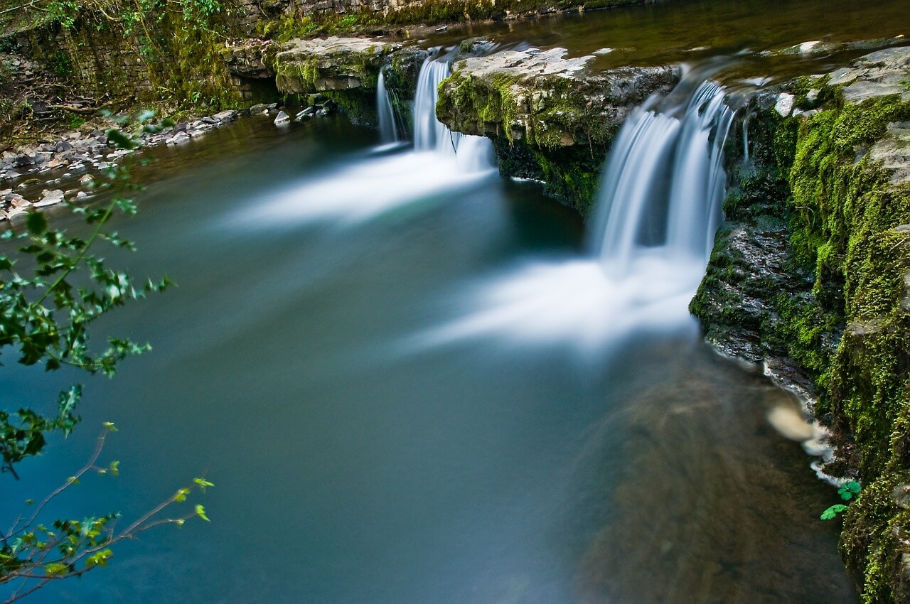waterfall in brecon beacons