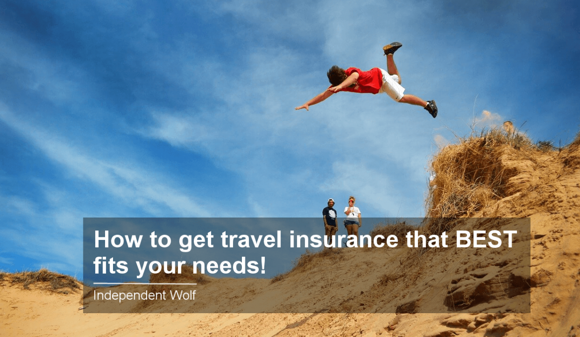 How to get travel insurance that Best fits your needs!