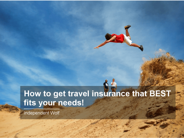 How to get travel insurance that Best fits your needs (1)