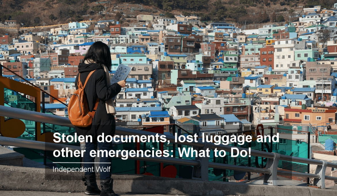 Stolen documents, lost luggage and other emergencies