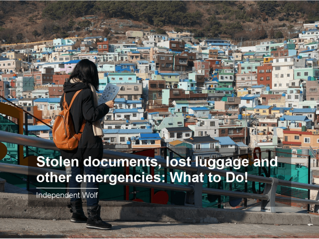 Stolen documents, lost luggage and other emergencies: what to do!
