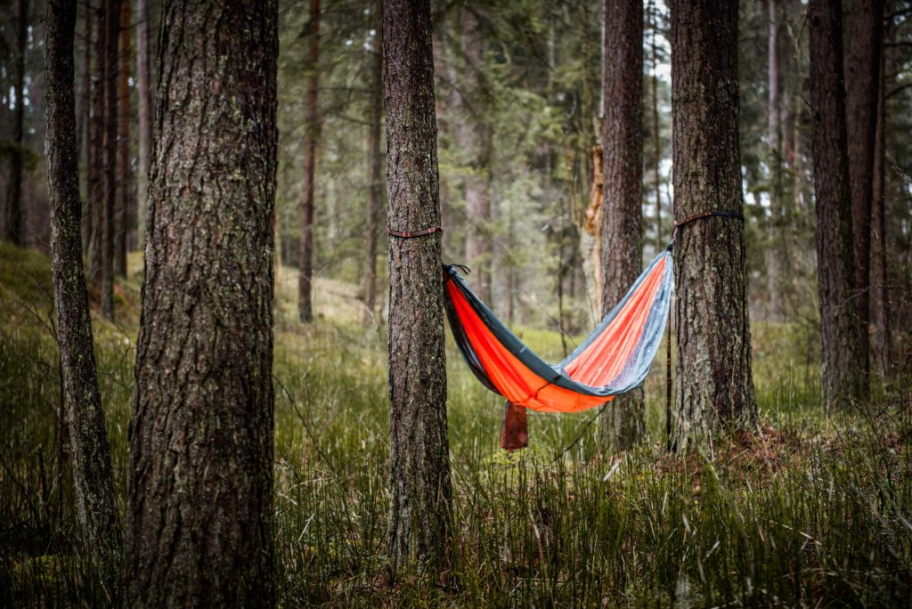 Independent Wolg Orange Camping Hammock