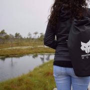 Black 20l dry bag