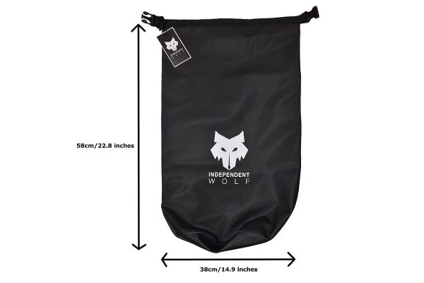 Independent Wolf Dry Bag Black with Specification