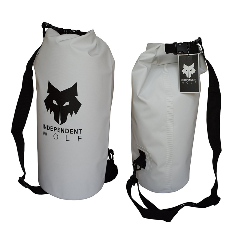 Independent Wolf Dry Bag White