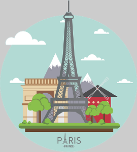 Paris Graphic Icon