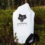 White dry bag 10l and nature