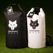 two independent wolf dry bags
