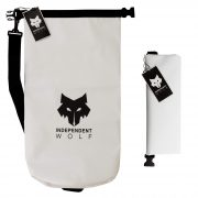 white independent wolf dry bag