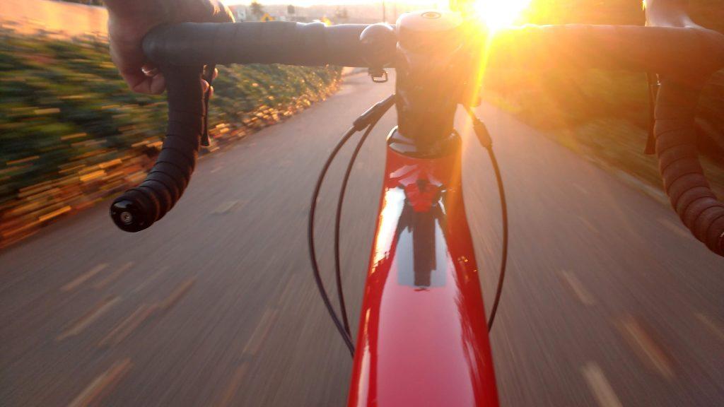 bicycle in sun