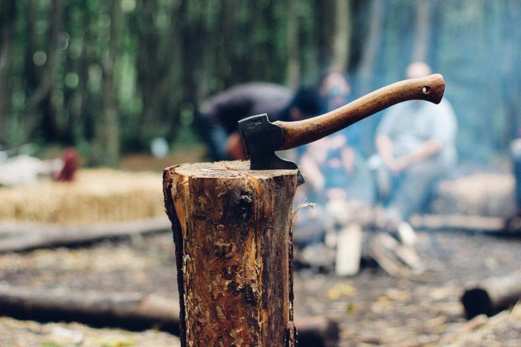 camping hatchet