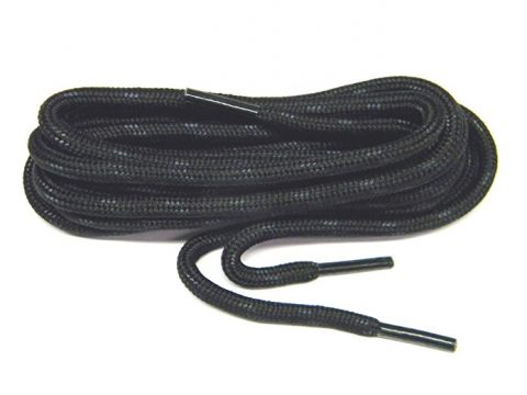 Black Kevlar proTOUGH(tm) Reinforced Heavy Duty Boot Laces Shoelaces