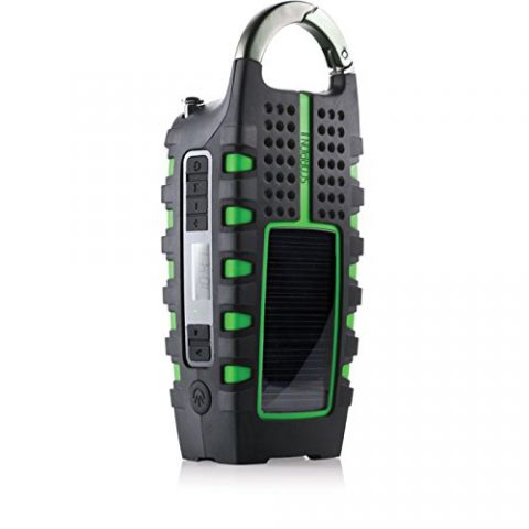 Eton Scorpion II Portable Emergency Hiking Radio and Flashlight