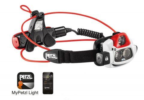 Petzl - NAO+ Headlamp 750 Lumens, Bluetooth Enabled
