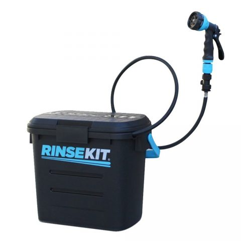 RinseKit Pressurized Portable Shower