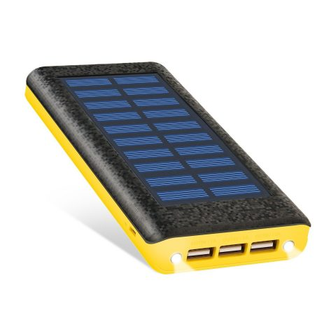 Solar charger Ruipu 24000mah Portable Solar Power Bank
