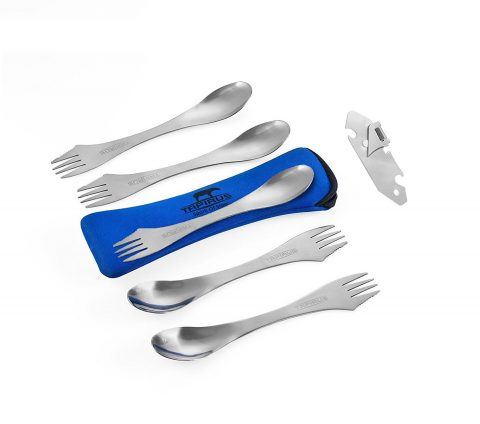 Tapirus 5 Spork Of Steel Utensils Set