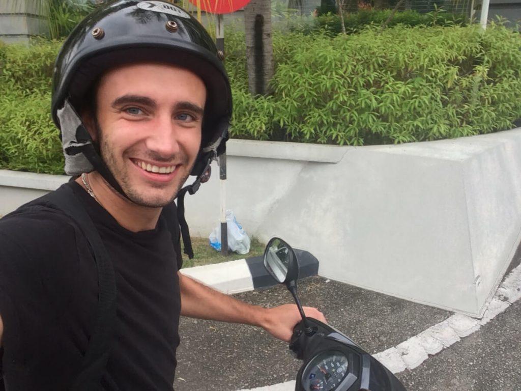 Langkawi with motorbike