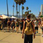 boardwalk and solo traveler