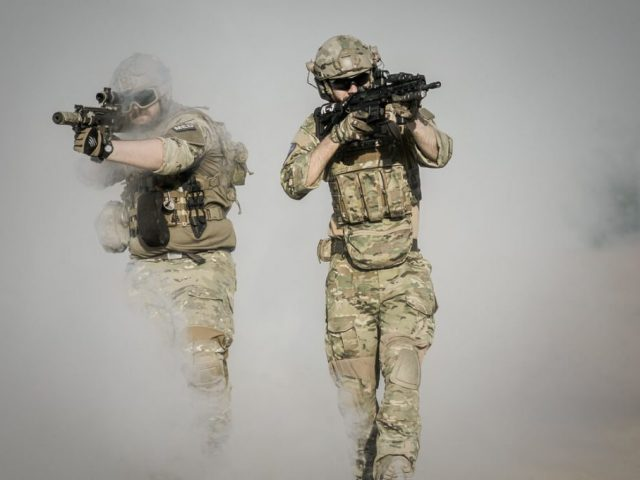 two army guys