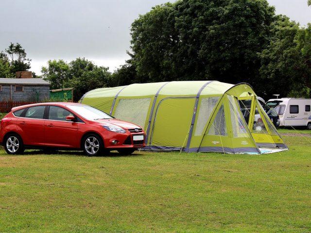 vango inflatable tent