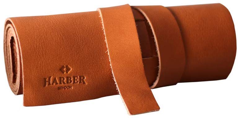 Harber London Leather Rollup Cord
