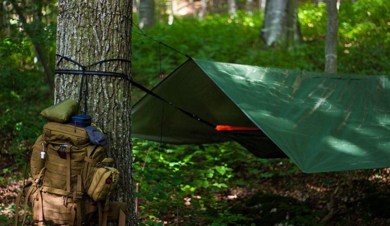outdoor hammock camping tarp