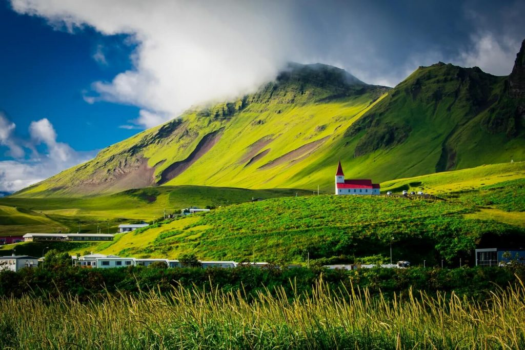 Iceland in daytime