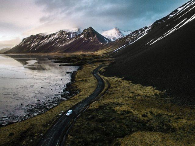 mountains in Iceland - Stokksnes