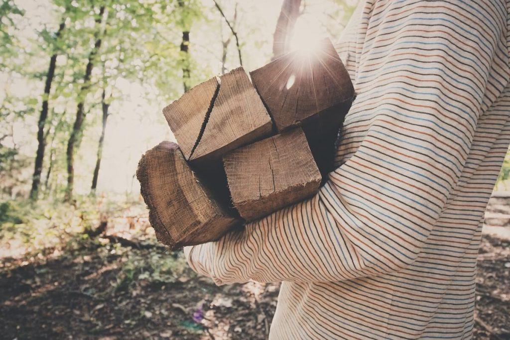 wood for bonfire