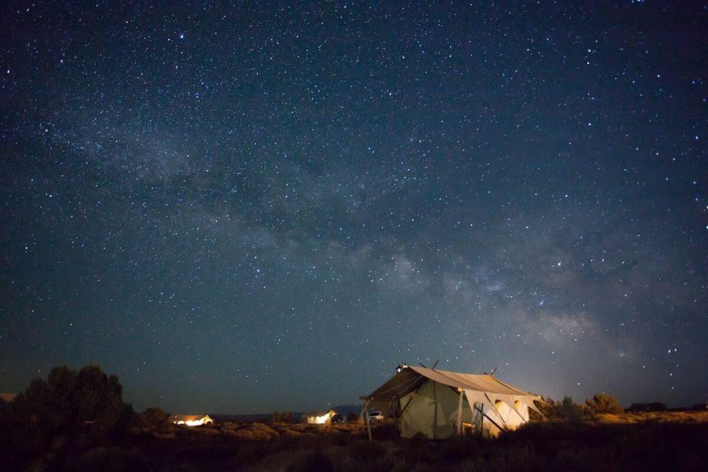 safari night sky