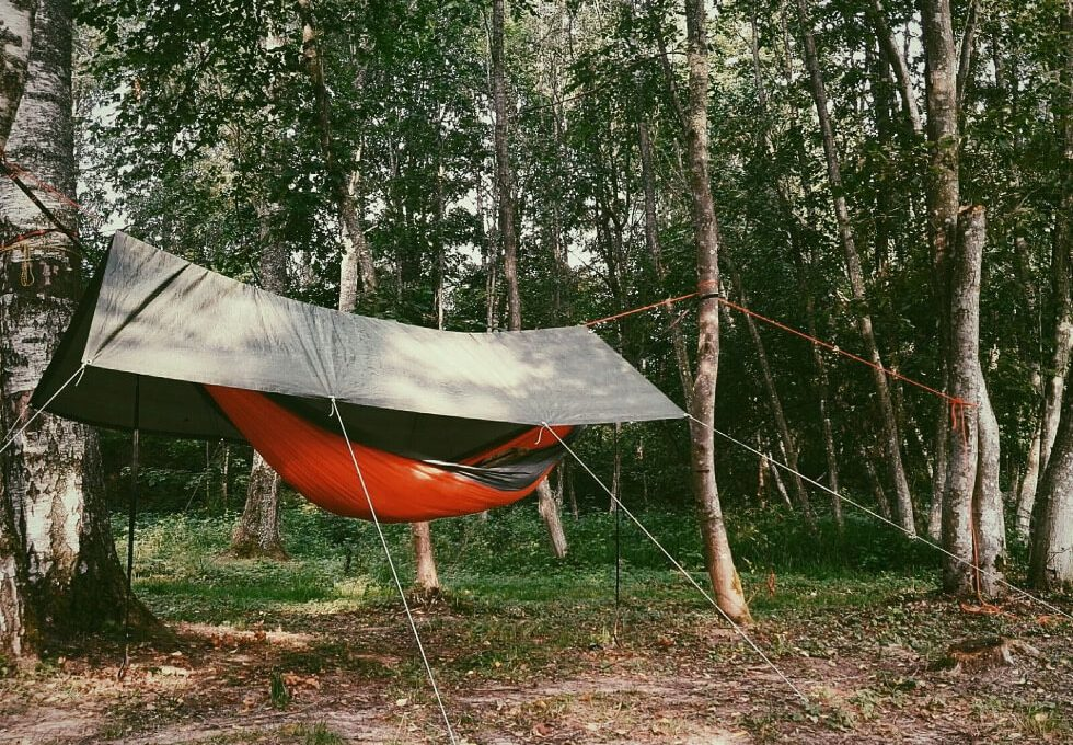 camping hammock with rainfly